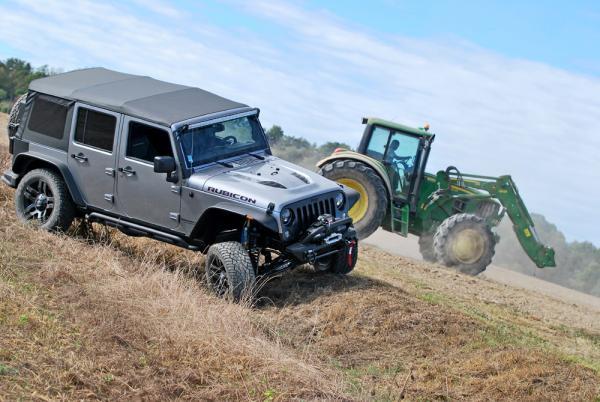 Préparation Jeep Wrangler