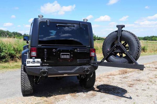 Préparation Jeep