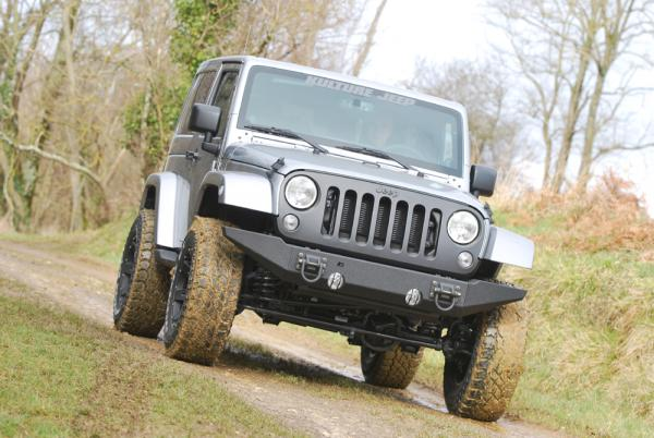 Préparation Jeep Wrangler Sahara V6