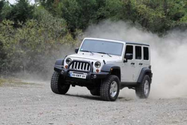 Préparation jeep Wrangler France