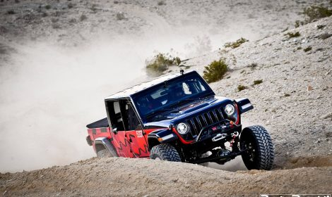Le Jeep Gladiator au King of the Hammer