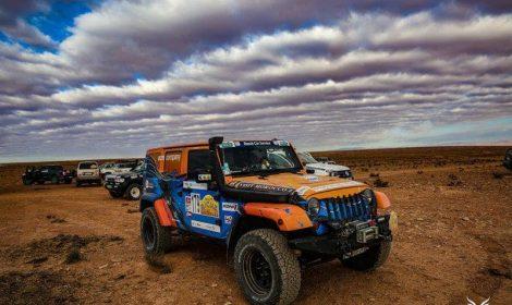 Kulture Jeep soutient un équipage du Rallye des gazelles…