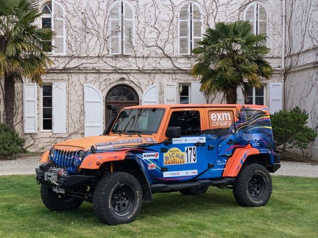 La jeep Gazelle 2019