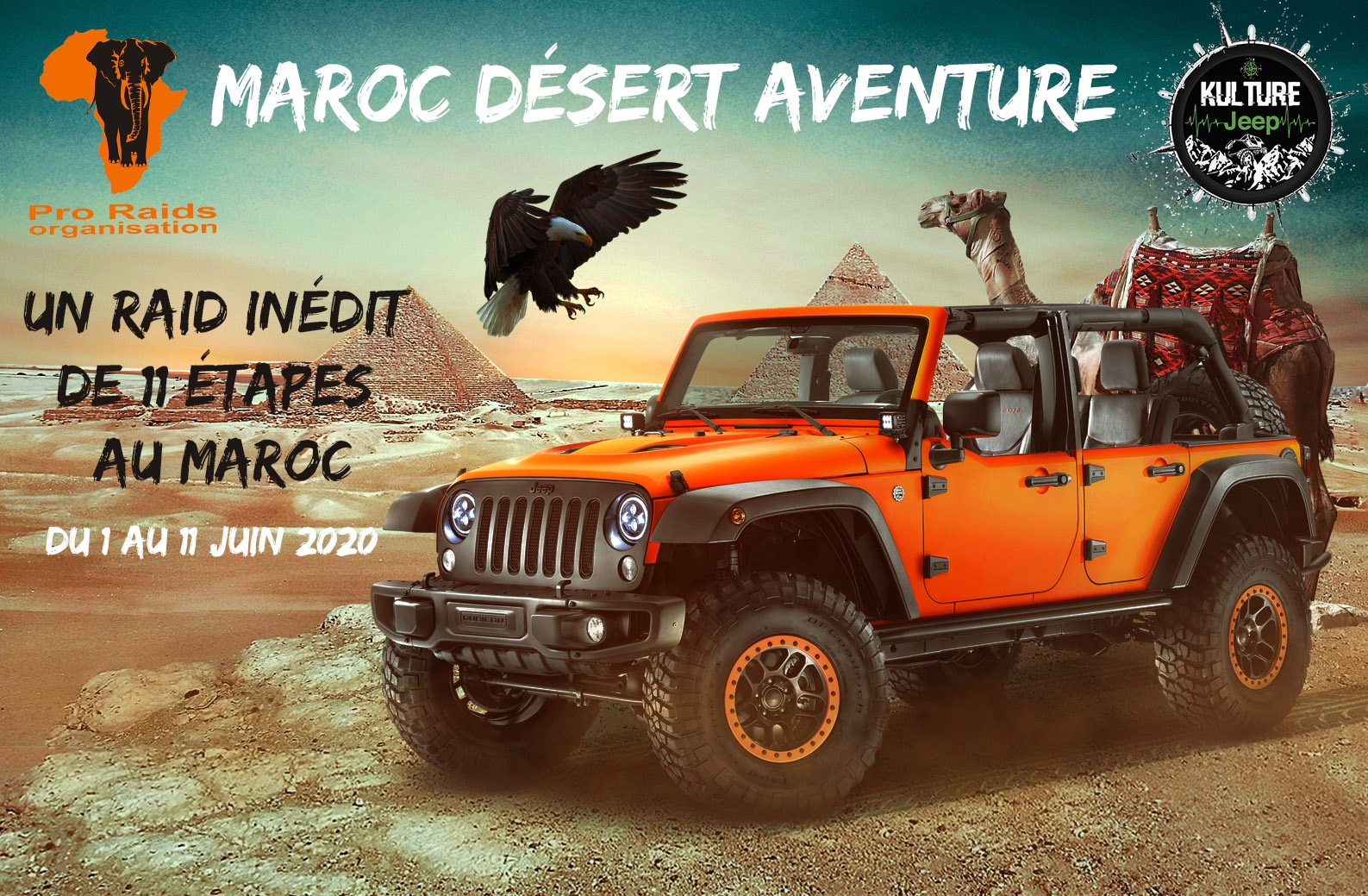 Raid Jeep maroc 2020