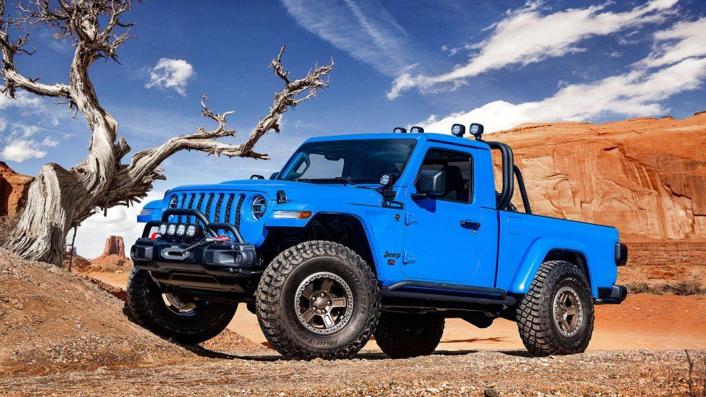 Jeep J6 Gladiator Concept car