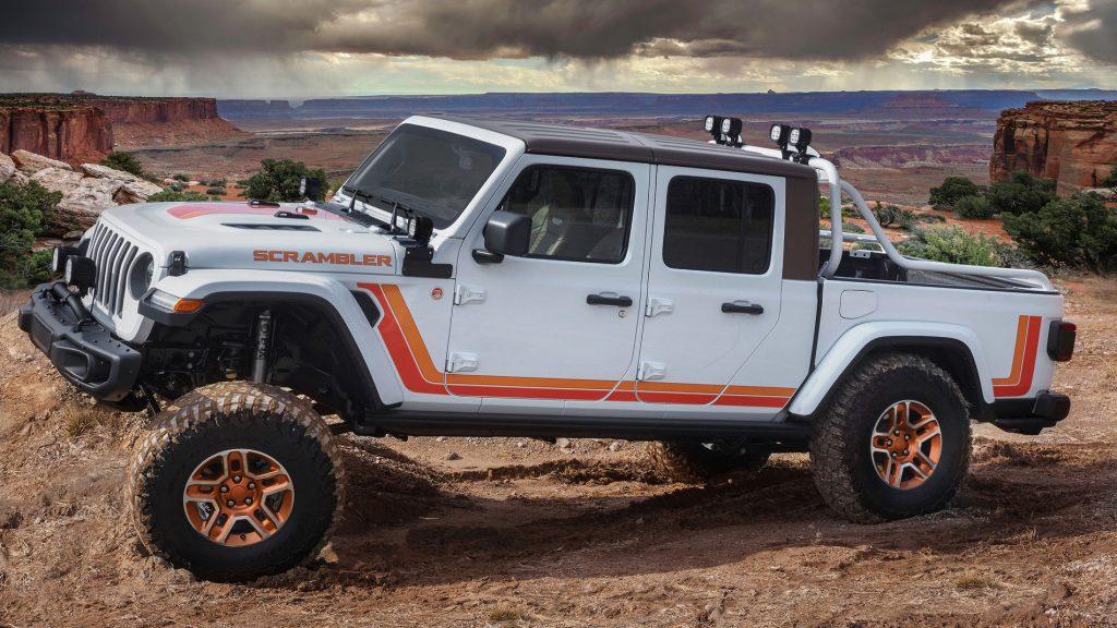 Jeep Scrambler Gladiator Concept car