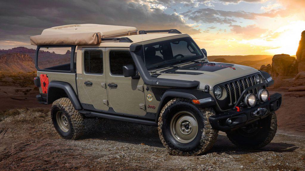 Jeep Gladiator Wayout concept car