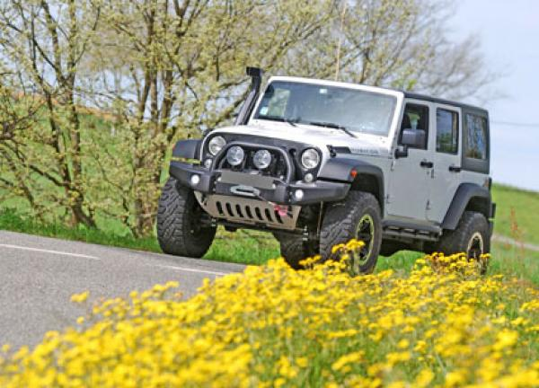 JEEP JK PARE CHOC AVANT AEV EXPEDITION