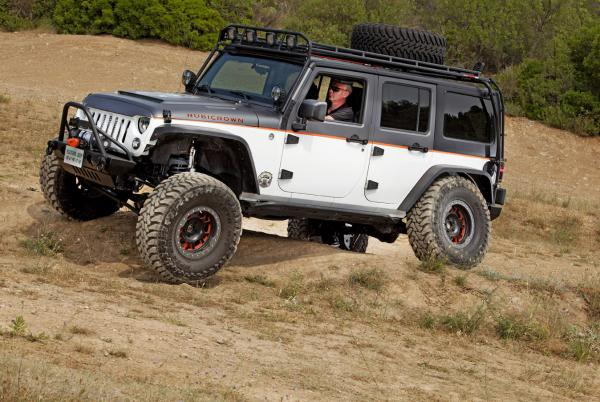 JEEP WRANGLER JK TOP SEMA SHOW 2015 KIT SURELEVATION 4.5 POUCES ZONE OFF ROAD